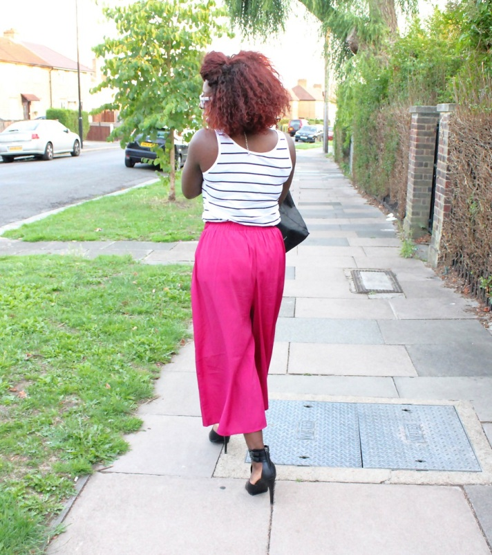 new look top, asos culottes