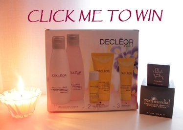 Win: DECLÉOR Anti-ageing facial set. PRAImordial Facial Creme. Wild about Beauty Lip Balm